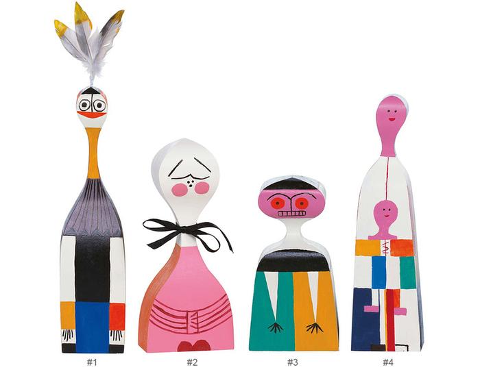 wooden dolls by alexander girard