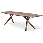 xy trapezium dining table  - Montis