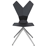 y chair with swivel base  -