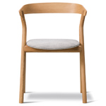 yksi chair with upholstered seat  -